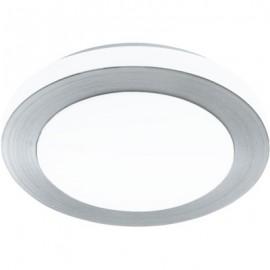 Απλίκα - πλαφονιέρα μπάνιου LED CARPI βουρτσισμένο αλουμίνιο στεγανή