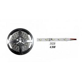 Ταινία LED αυτοκόλλητη 4.8W/m 12VDC στεγανή IP54 σε ρολό 5m LUMEN