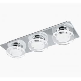 Σποτ φωτιστικό LED Cisterno από ανοξείδωτο ατσάλι σατινάτο