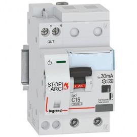 DX3 αυτόματη ασφάλεια/ρελέ διαρροής 2Π 16A 30mA με προστασία τόξου