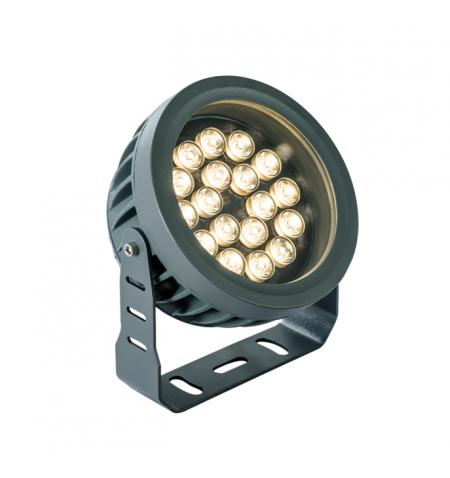 Προβολέας φωτιστικό LED Ermis αλουμινίου ανθρακί Viokef