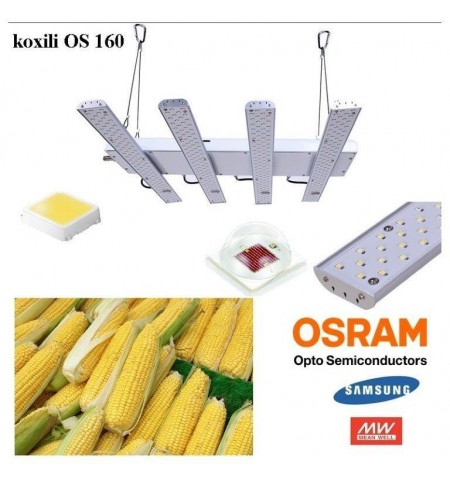 Φωτιστικό για μεγάλωμα Φυτών Koxili OS 160 LED Grow Light Fruit Okeania