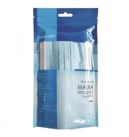 Μάσκα μίας χρήσης one size 10 τμχ 147-90902 Eurolamp