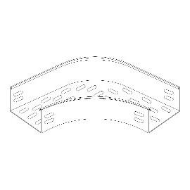 Γωνία 90 μοιρών για σχάρα καλωδίων τύπου H60 μεταλλική